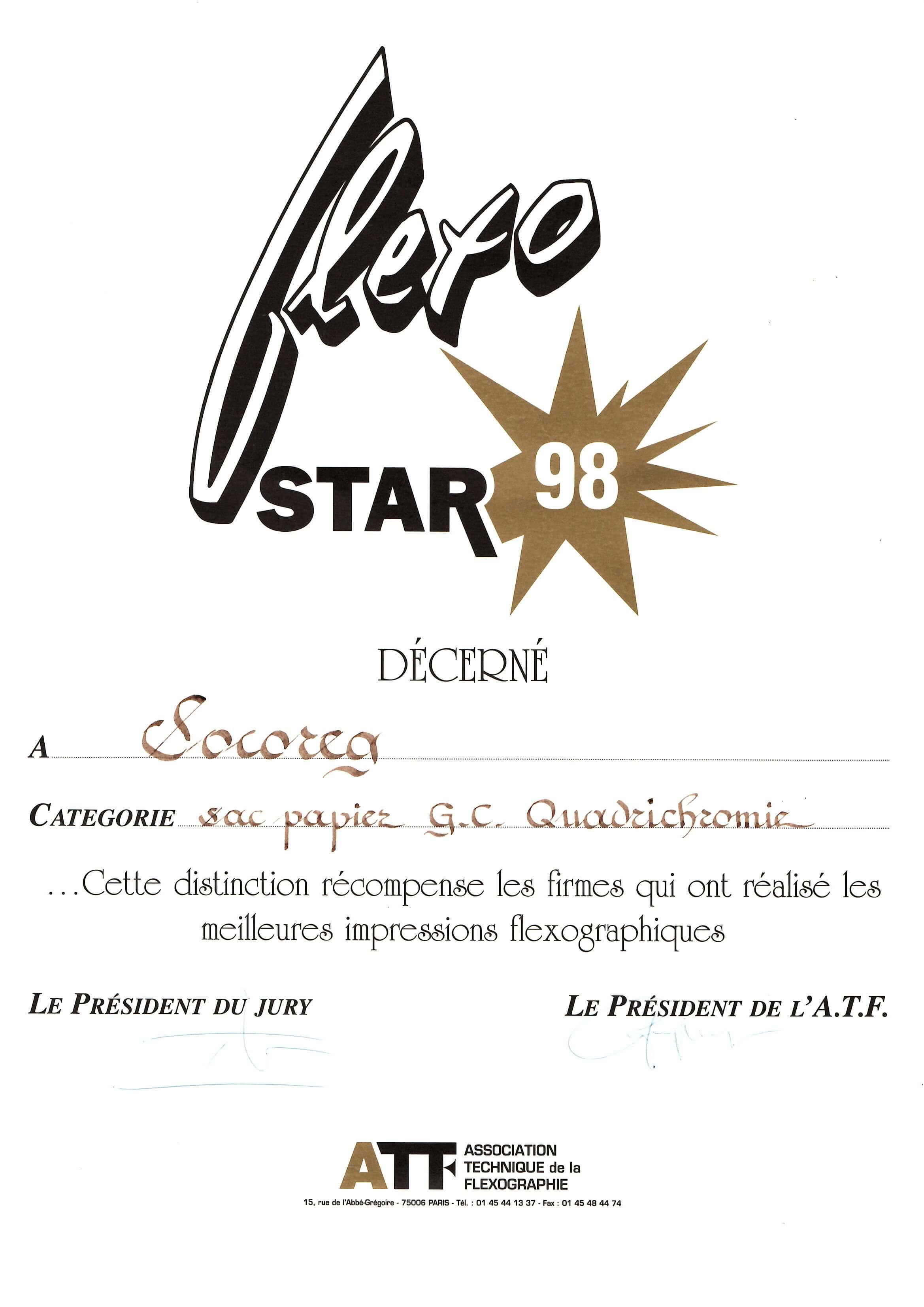 flexostar 98
